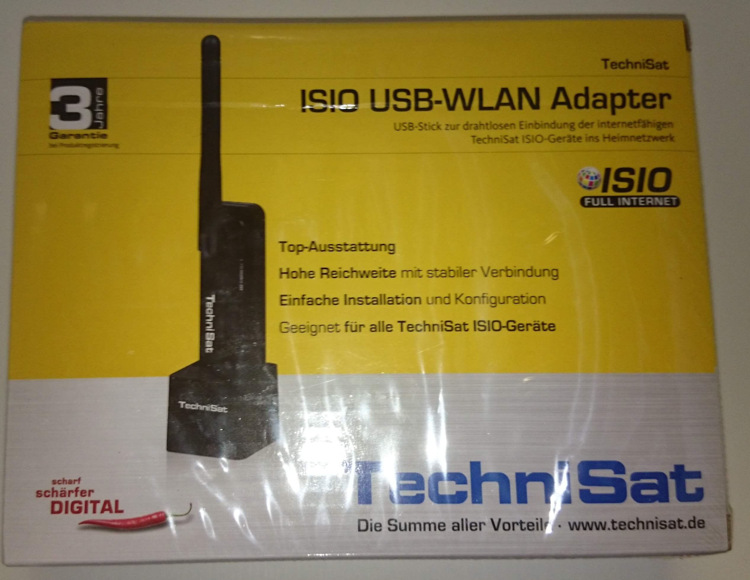 WIFI adaptér Technisat Teltronic USB WLAN