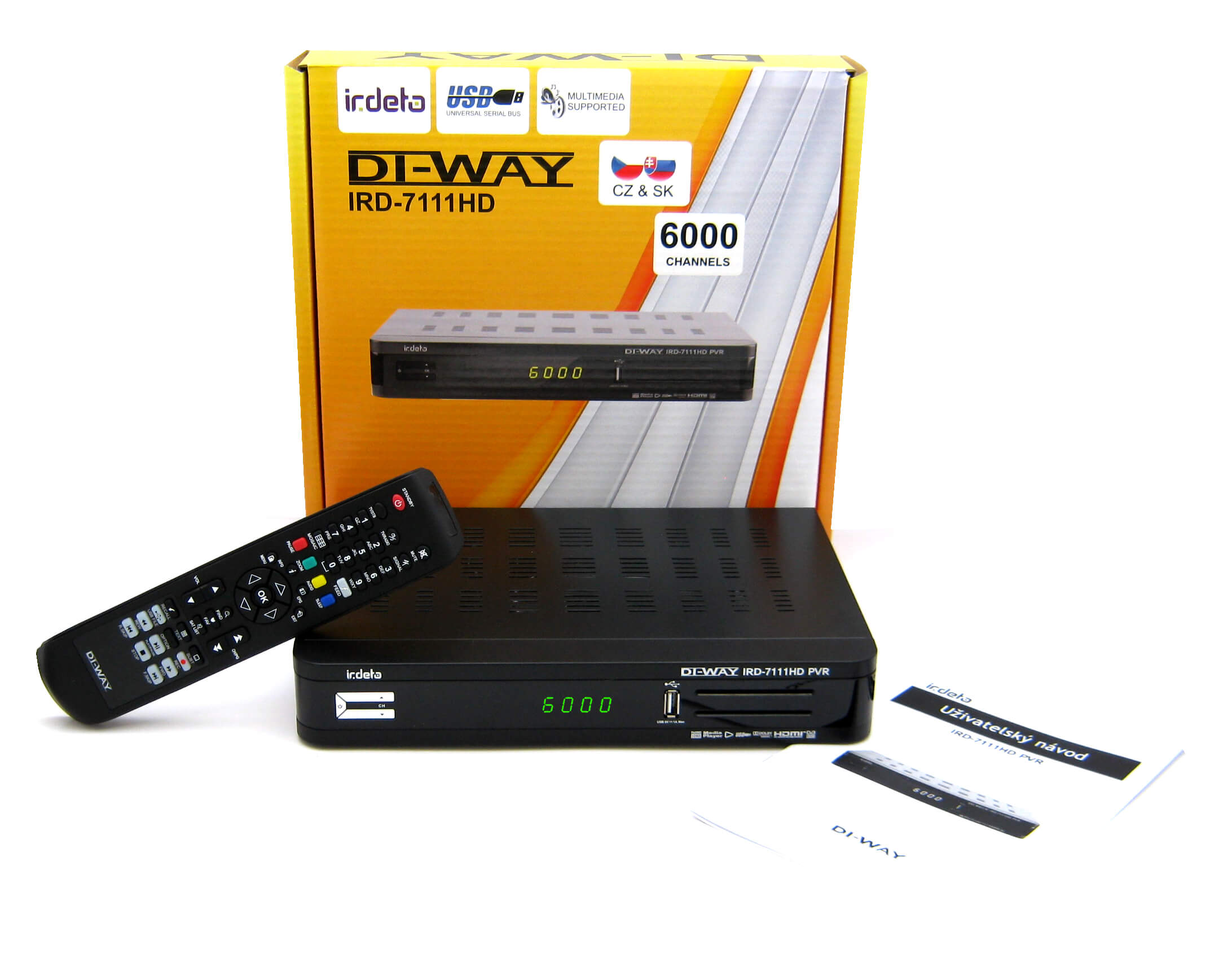 DI-WAY IRD-7111HD PVR IRDETO