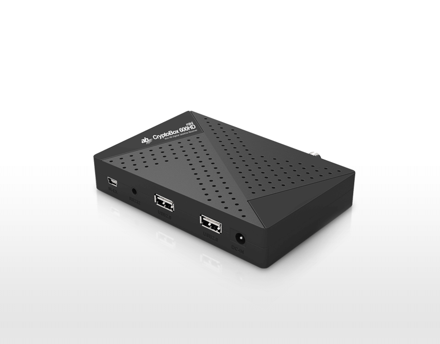 AB CryptoBox 600HD MINI + HDMI kábel zdarma