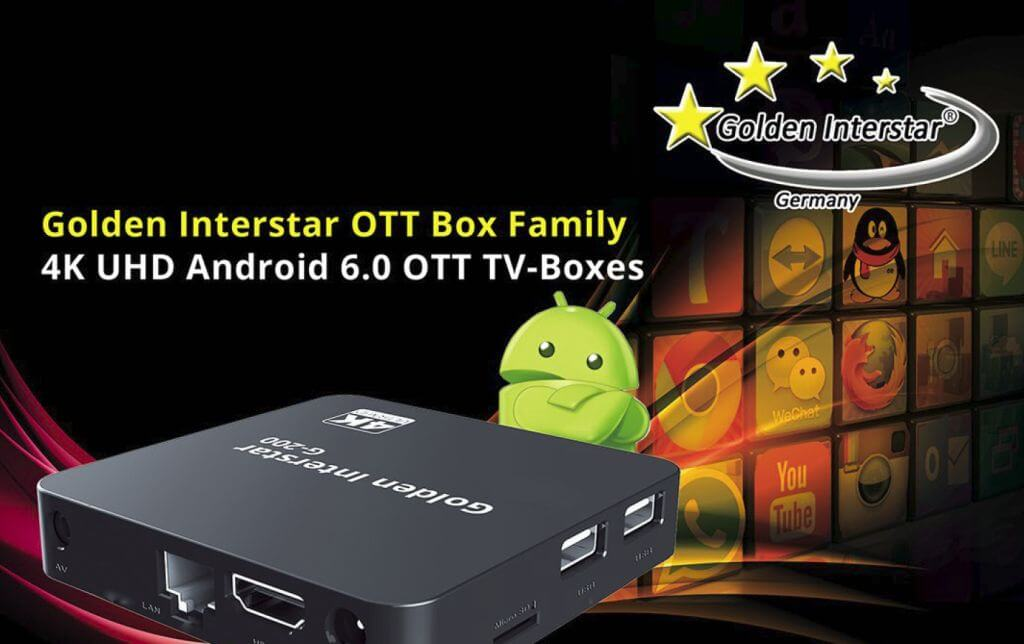 Golden Interstar G-150 OTT 4K