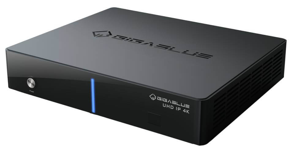 Gigablue UHD IP 4K DVB-T2/C Single