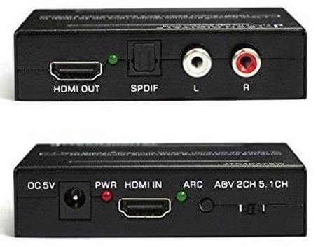 HDMI extractor AUDIO SPDIF/CINCH