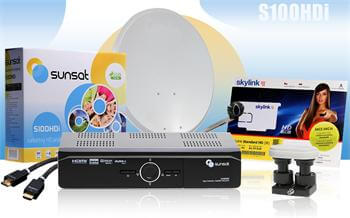 Komplet Sunsat S300 HDi PVR Skylink ready