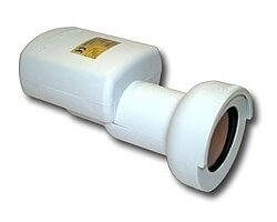 Invacom Twin LNB, 40mm Feed, 0,3 dB