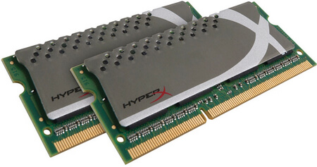 Kingston DDR3 4GB 1866MHz CL11 SODIMM (2x2GB) HyperX Plug n Play KHX1866C11S3P1K2/4G