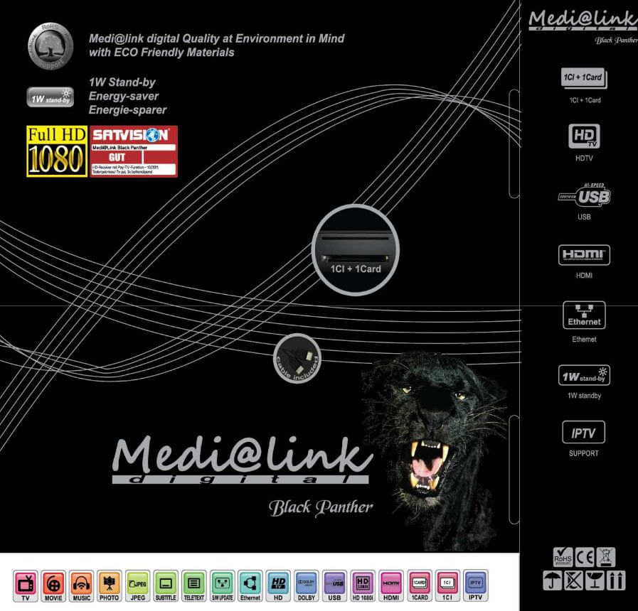 Medialink Black Panther Cable HD ML 1310
