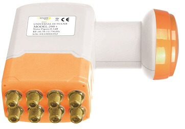 LNB Golden Interstar GI208+ octo