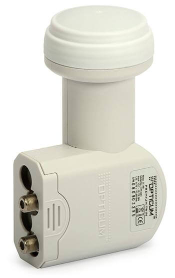 Opticum LTP-04H Linear Premium Twin LNB 0,1dB