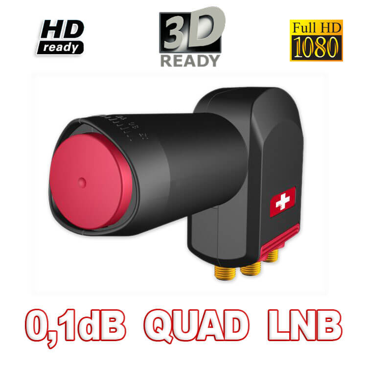 Opticum RED Rocket QUAD LNB 0,1dB