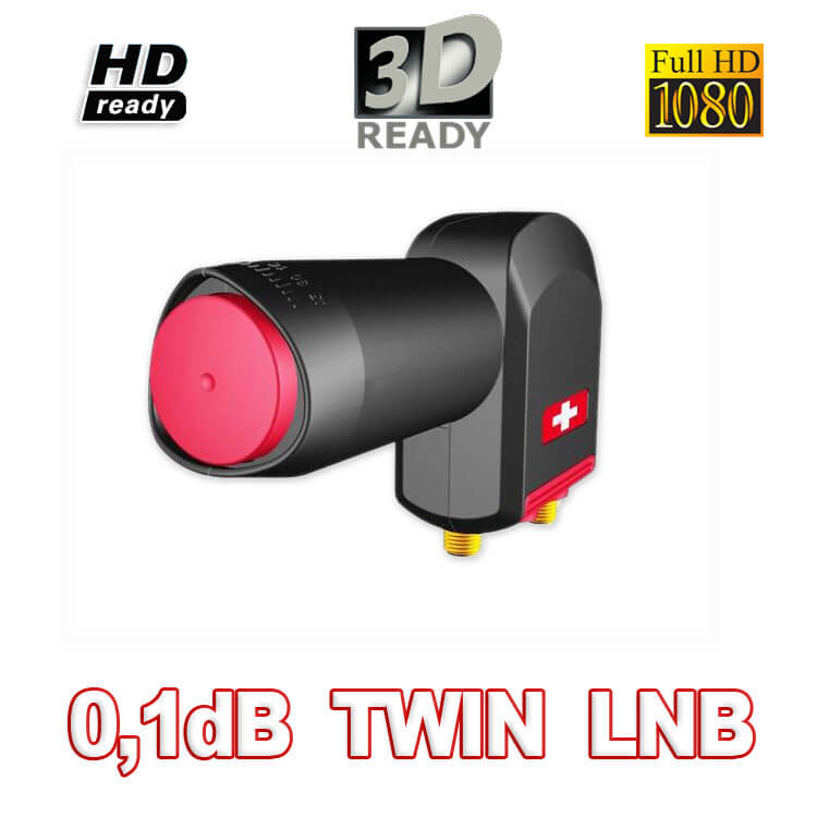 Opticum RED Rocket Twin LNB 0,1dB