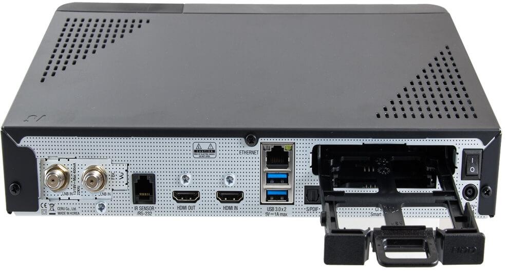 b626f6f1e Prijímač je vybavený gigabitovým ethernetovým portom, ktorý vám zabezpečí  bezproblémovú spoluprácu so sieťovými zariadeniami pri práci s multimédií  alebo ...